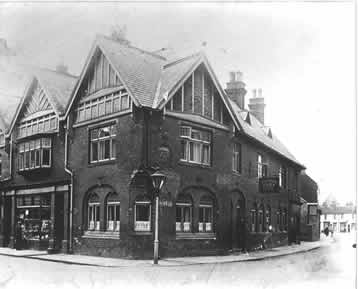 old photo of Half Moon Inn, Howden, East Yorkshire
