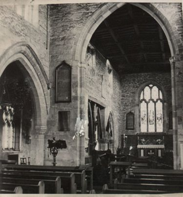 interior of St. Michael's church, Eastrington, East Yorkshire