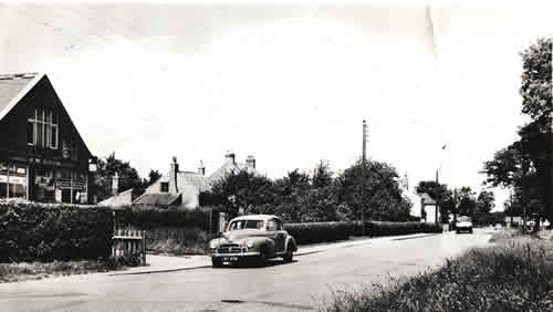 old photo of Clementhorpe Road, Gilberdyke, East Yorkshire