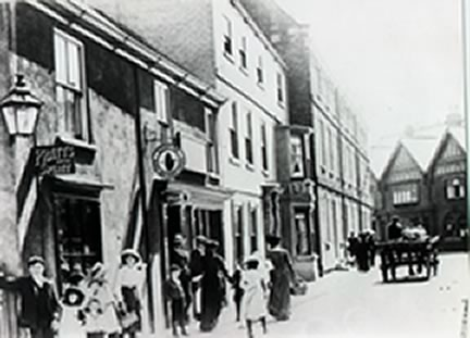 old photo of Bridgegate Howden