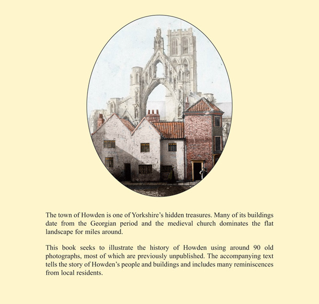 Back cover of Howden, a pictorial history by Susan Butler