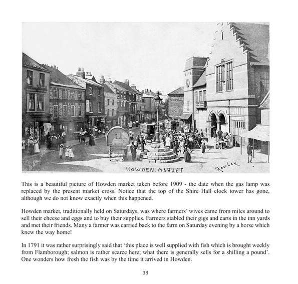 Sample page from Howden, a pictorial history by Susan Butler
