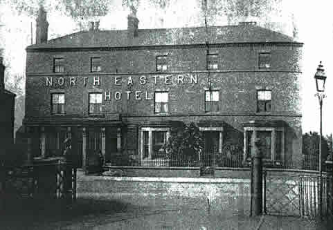 old photo of North Eastern hotel, Boothferry Road, Goole, Yorkshire
