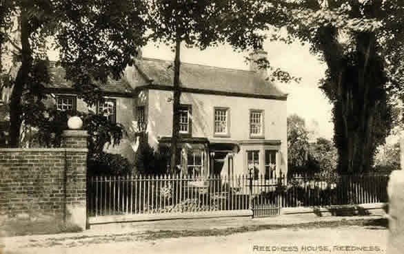 old view of Reedness House, Reedness, Yorkshire