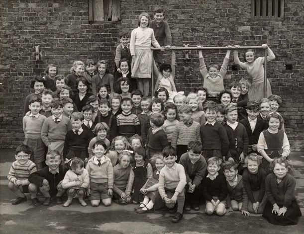 Eastrington school pupils in 1960, Eastrington, East Yorkshire