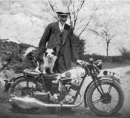 Old photo of Harry Durham of Skelton, East Yorkshire