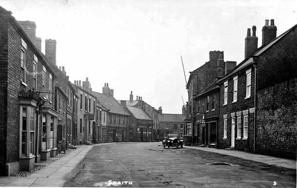 Old photo of Market Place, Snaith, Yorkshire